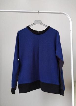 Шерстяной свитер италия sisley, xs