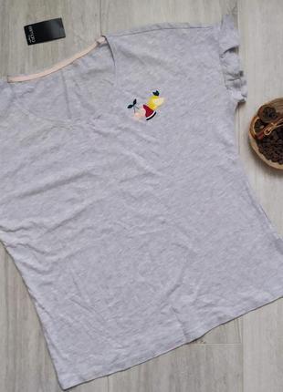 Женская хлопковая футболка esmara