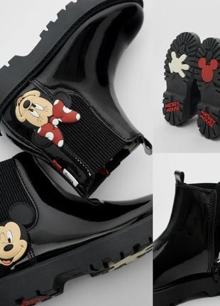 Очень крутые ботинки zara 🔥🔥🔥 mikki maysom disney