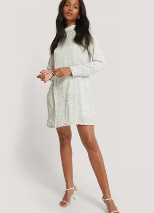 Новое платье водолазка лонгслив na-kd