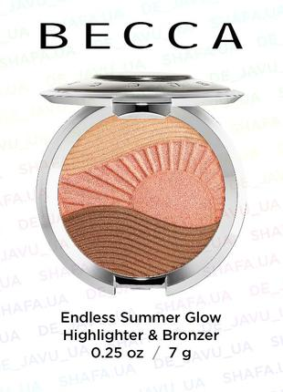 Хайлайтер / бронзер becca endless summer glow