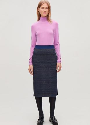 Розпродаж! юбка cos из натуральной шерсти