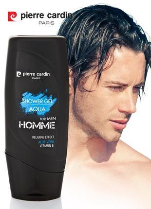 Pierre cardin shower gel 300 ml - aqua гель для душа