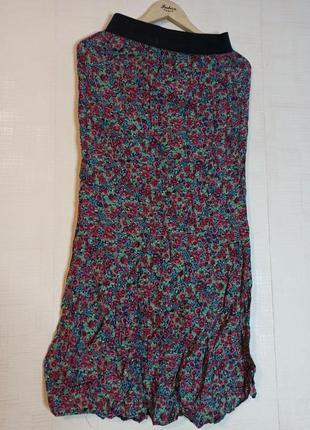 Длинная юбка в пол. 100% вискоза. love label