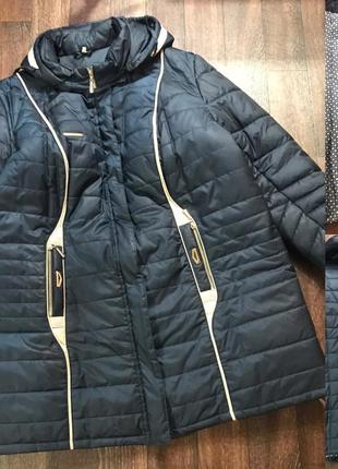 Зимняя куртка батал 64р