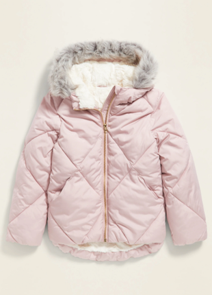 Куртка на меху курточка парка пудра оригинал олдневи  old navy