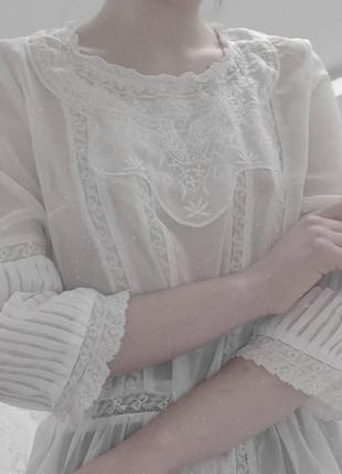 Винтажная рубашка/блузка