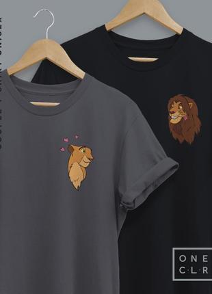 Парные футболки унисекс
