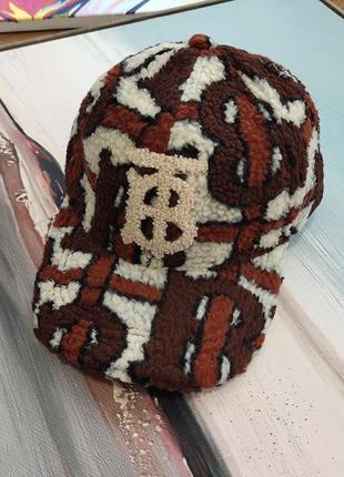 Мягкая флисовая плюшевая кепка burberry london