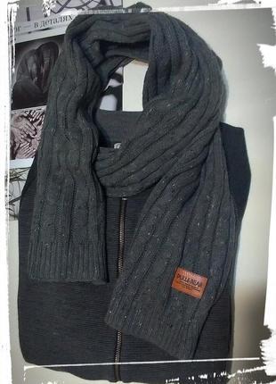 Зимний серый  шарф от pull&bear 🐻