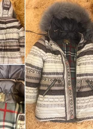 Зимнее пальто 128