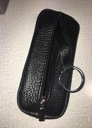 Практичная мужская ключница из натуральной кожи. 100 % leather