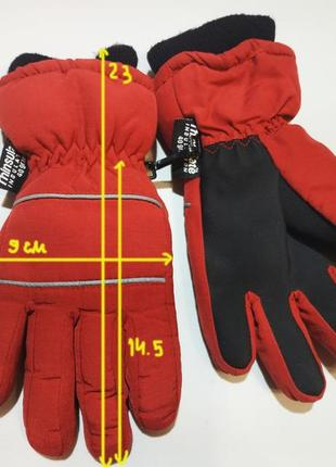 Зимние тёплые термоперчатки, перчатки на 3-5 лет