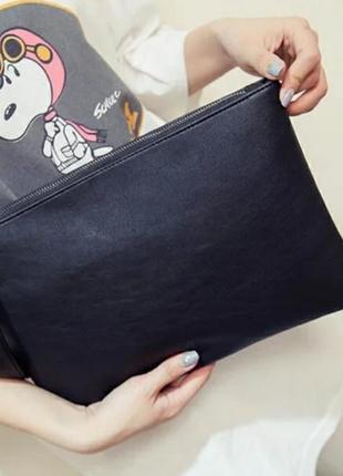Сумка клатч черный / клатч / сумка