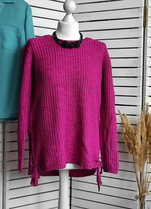 Теплый свитер крупная вязка gina tricot