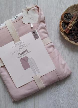 Хлопковый домашний костюм футболка + штаны, пижама женская, одежда для дома и сна