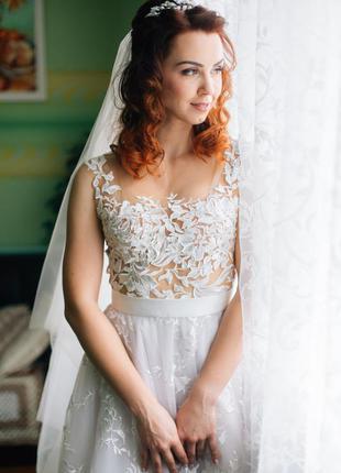 Свадебное платье / весільну сукню