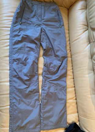 Спортивные лыжные зимние штаны