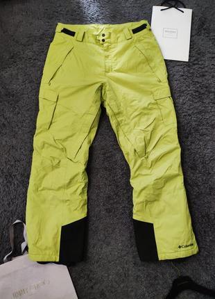 Заряженные горнолыжные штаны columbia waterproof omnitech snowboard pants