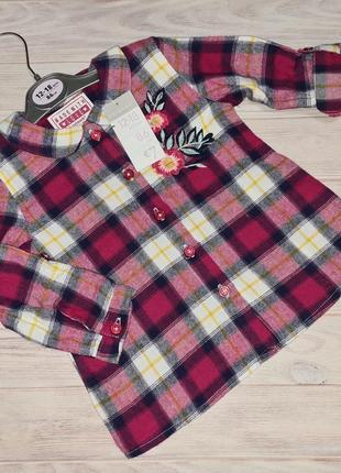 Рубашка primark девочке 12-18, 18-24 мес