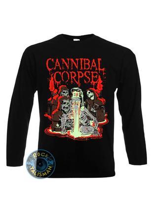 Лонгслив/мерч cannibal corpse