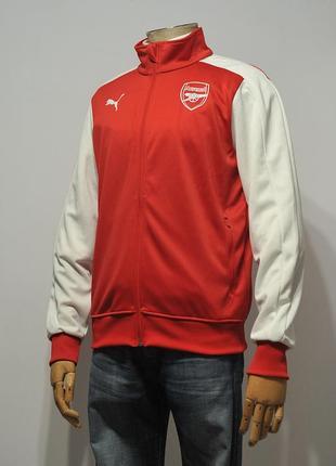 Куртка олімпійка олимпа puma fc arsenal london t7 track top - m