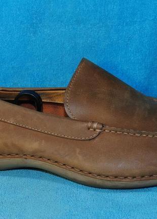 Timberland кожаные мокасины 45 размер