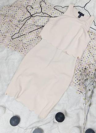 Платье с фигурными деталями new look