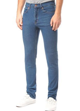 🎁1+1=3 фирменные прямые зауженные джинсы marks&spencer, размер 50 - 52