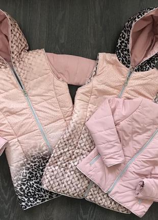 Куртка+желетка