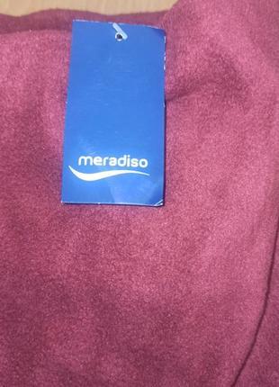 Простыни на резинке теплая флисовая зимняя цвет бордо 90-100х200 наматрасник meradiso
