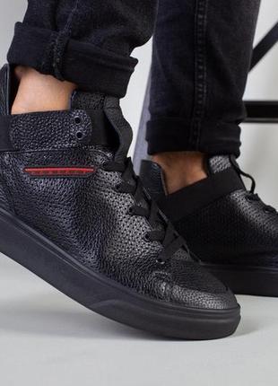 Мужские туфли с перфорацией