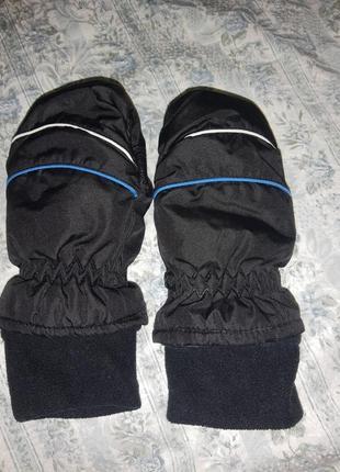 Краги варежки рукавицы детские