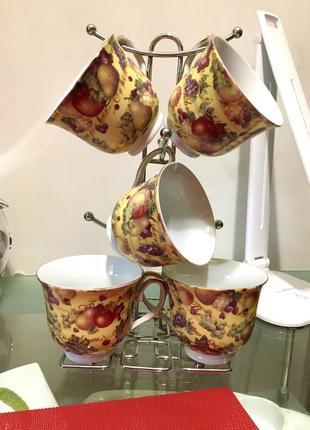 Чайный сервиз чашки для чая