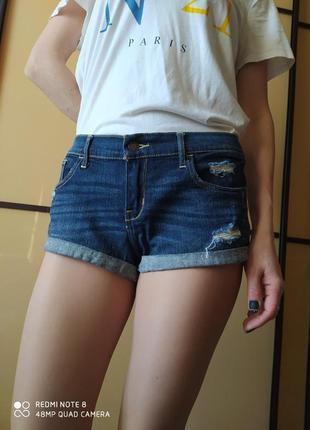 Суперски  джинсовые шорты  😎от hollister w30