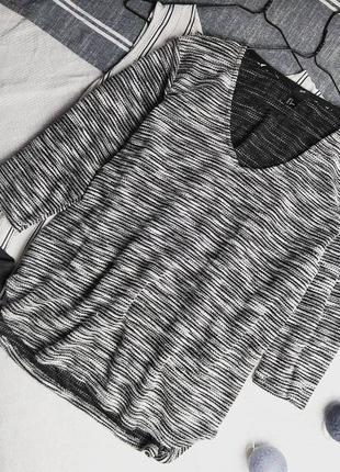 Джемпер свитер кофточка с v-образным вырезом h&m