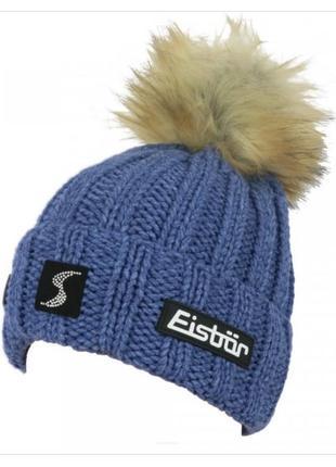 Женская горнолыжная шапка eisbar с кристаллами swarovski