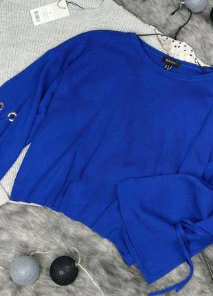 Снижена цена!!! джемпер свитер с широкими рукавами new look