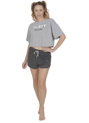 Пижама женская футболка,шорты vienetta турция s,m,l
