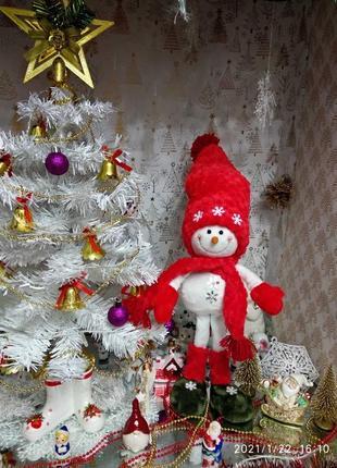 Снеговик игрушка новогодняя новогодний декор