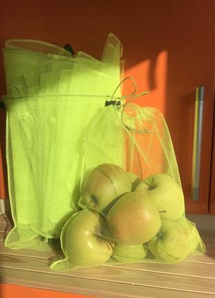 Экомешочки экомешок торба торбинка фруктовка сетка еко мішечки еко мішок