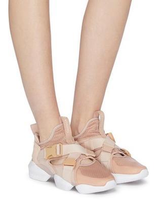 Женские кроссовки reebok 3d op. s-strp sneaker in neutral-beige