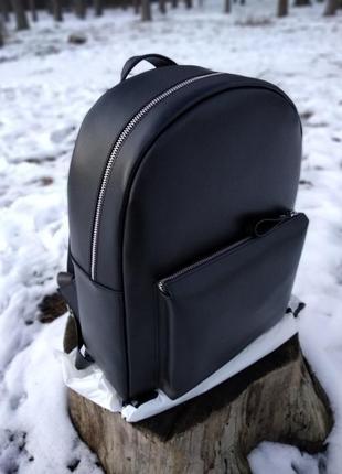 Кожаный рюкзак ручной работы!