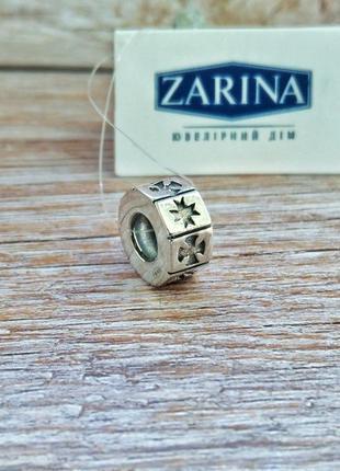 Шарм, бусина для браслета в стиле пандора серебро 925 кельтский узор