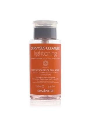 Лосьон очищающий  sesderma laboratories sensyses cleanser lightening (испания)