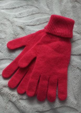 Теплі рукавиці із закотом john levis
