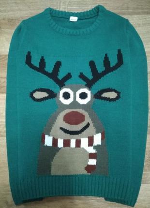 Светящийся свитер