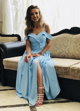Женское платье в пол, жіноче плаття