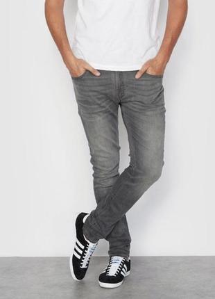 Джинсы зауженные jack & jones jeans intelligence