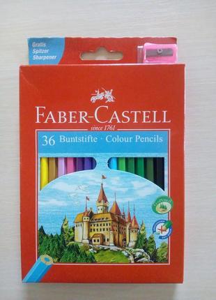 Карандаши faber castell 36 карандашей